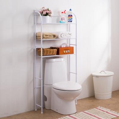 樂活家 弧形馬桶置物架 浴室架 層架 收納架 64x21x153cm
