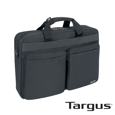 Targus Urban Dual 15.6 吋雙層側背包(黑)