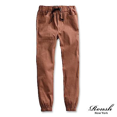 ROUSH 字母抽繩設計縮口長褲 (6色)