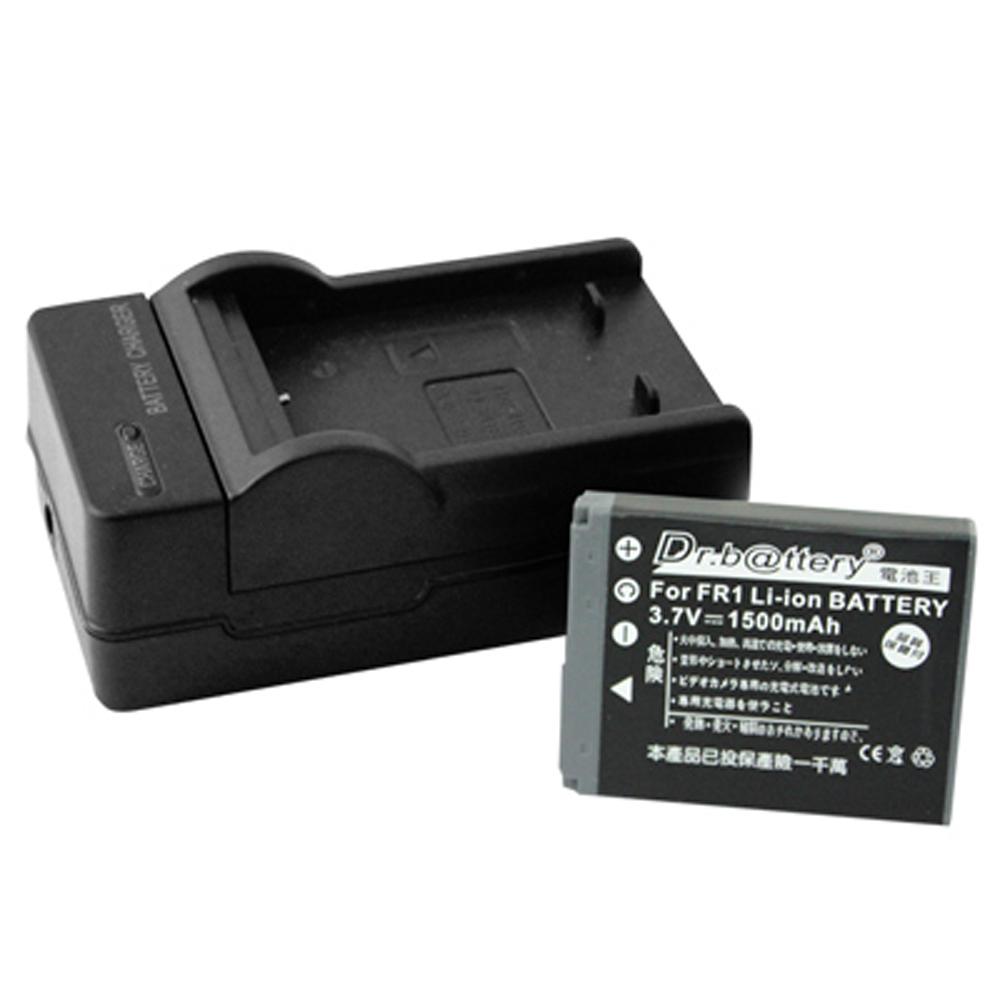 電池王 SONY NP-FR1 高容量鋰電池+充電器組