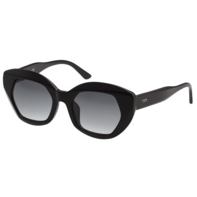 TOD'S 個性角框 小貓眼 太陽眼鏡 (黑色)TO144F