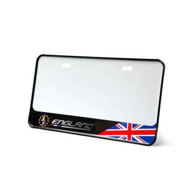 3D 新式下擺7碼立體車牌框 英國