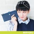 MIRYOKU 經典復古皮革系列 / 個性雙拉鍊多層次長夾(共4色)