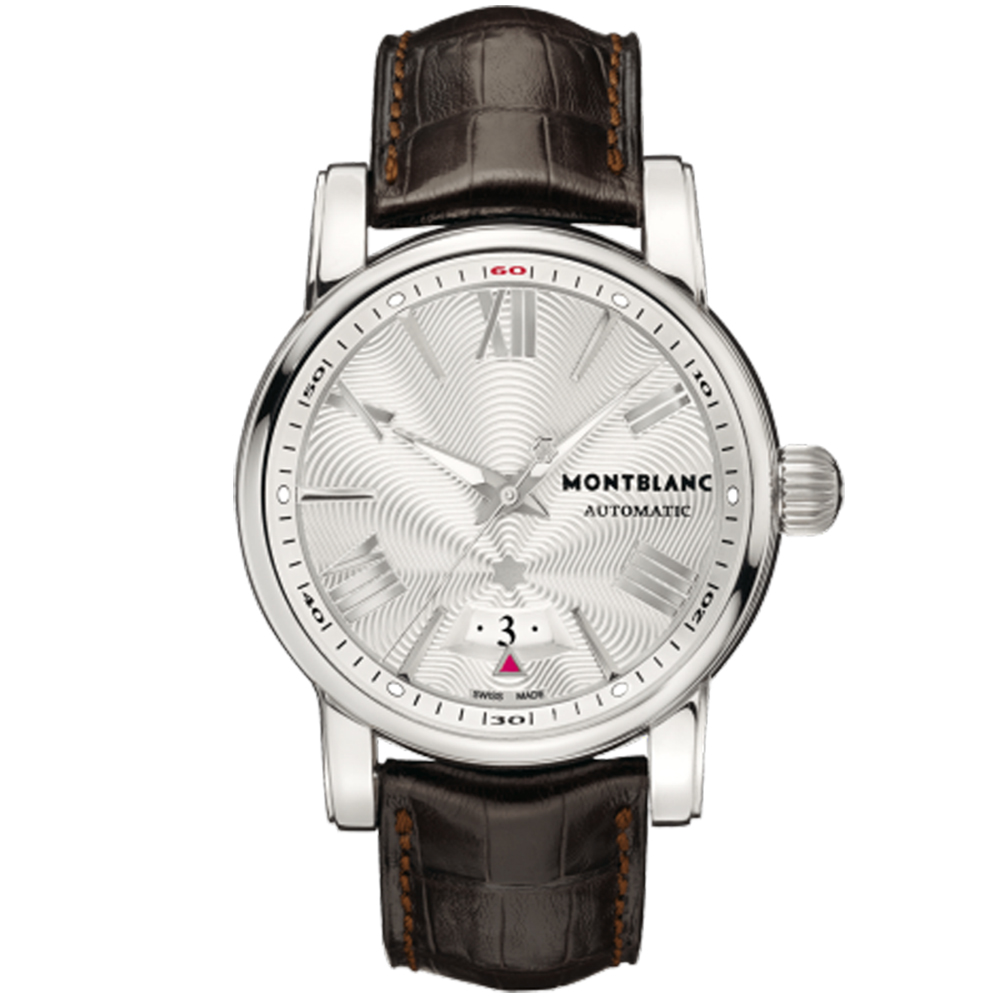 MONTBLANC 萬寶龍 STAR4810自動系列經典腕錶-銀/41.5mm