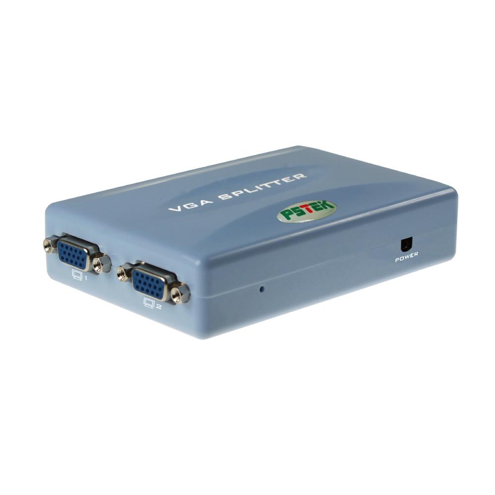 Pstek VPS-102 2埠掌上型螢幕同步廣播分配器