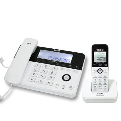 東元2-4GHz數位無線子母電話-XYFXC081