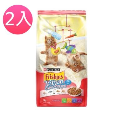 Friskies喜躍《幼貓活躍成長配方》貓乾糧 1.1kg (兩包組)