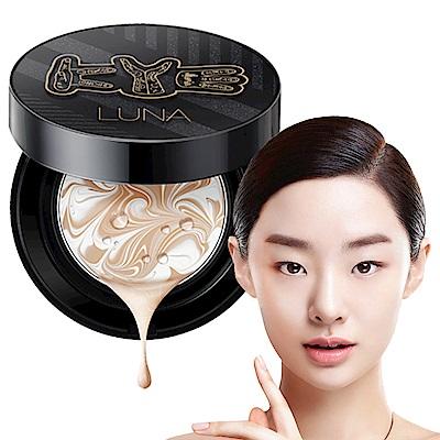 韓國LUNA 完美保濕精華爆水粉餅KYE聯名限定款#21白皙(粉盒X1+粉蕊12.5gX2