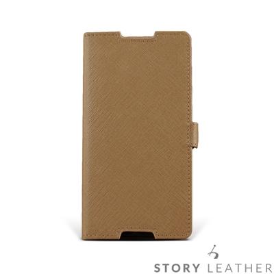 STORYLEATHER SONY Z3+ / Z5 摺邊折疊式客製化皮套