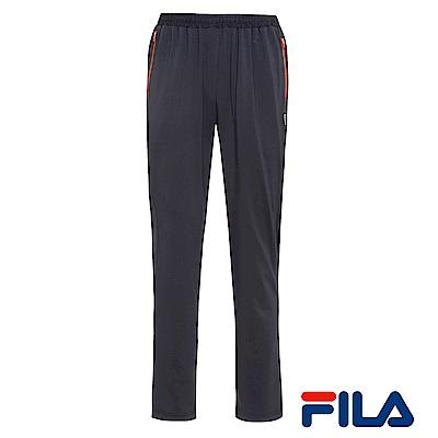 FILA男仕吸排抗UV針織長褲(時尚黑) 1 PNR- 1307 -BK