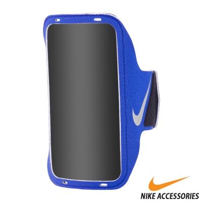 NIKE 輕量手機萬用臂包 (藍/銀)