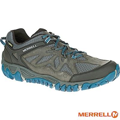 MERRELL ALLOUTBLAZE GTX 登山男鞋-灰藍(32803)