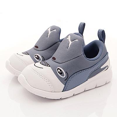 PUMA童鞋-輕量運動款-ON90695-02灰(小童段)