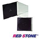 CD/DVD/VCD超薄壓克力收納盒/黑色*200入