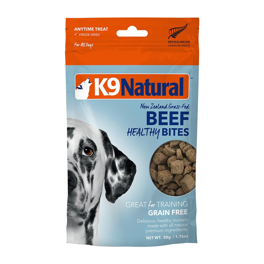 紐西蘭 K9 Natural 訓練零食 -牛肉口味-50g