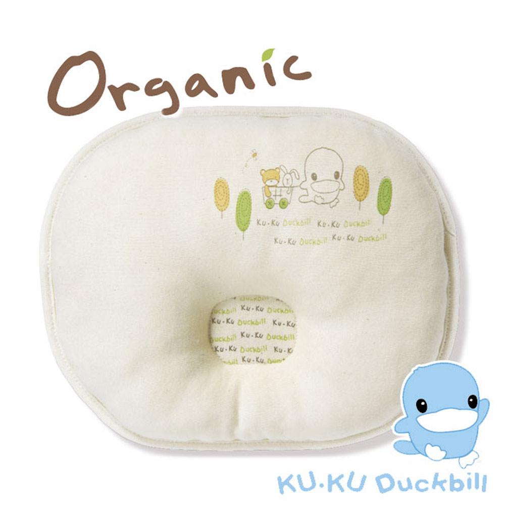 《KU.KU酷咕鴨》有機純棉護頭枕(23x28cm)