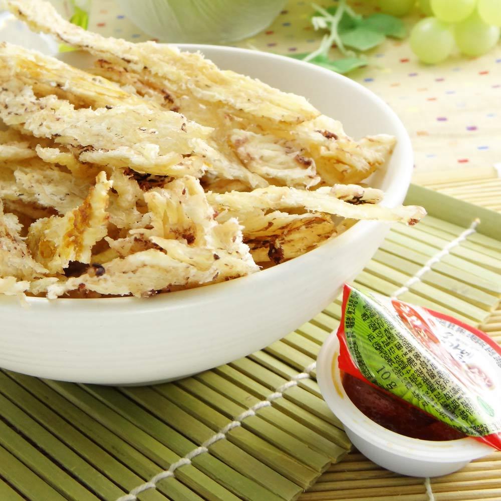 韓太 麥飯石火烤珍味魷魚片(35g)(附韓式辣沾醬)