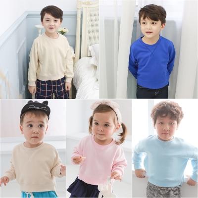 baby童衣 兒童素面刷毛厚T恤 61162