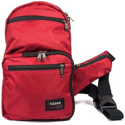 YESON - 輕量化防撥水單肩背包五色可選-MG-7206
