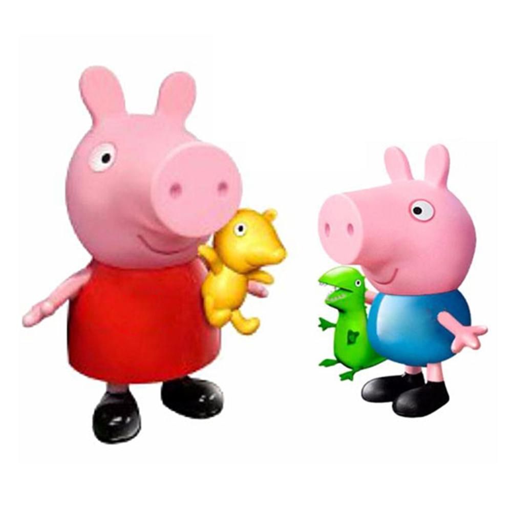 Peppa Pig粉紅豬小妹佩佩喬治大型公仔3Y