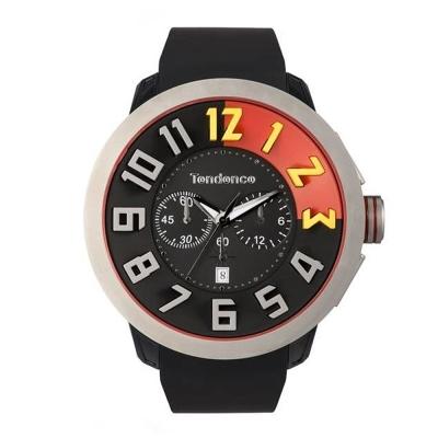Tendence 天勢錶 中國紅限量款-黑/50mm