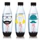 Sodastream水滴型專用水瓶1L 3入(嬉皮士) product thumbnail 2