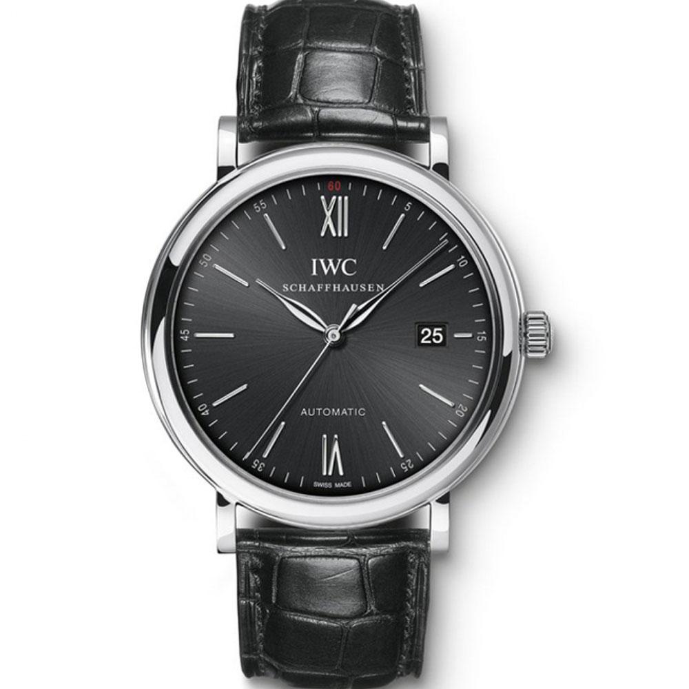 IWC 萬國錶 小葡萄牙 Portofino 柏濤菲諾經典三針腕錶(IW356502)-40mm