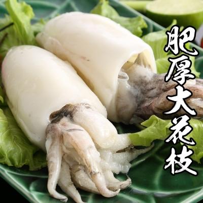 海鮮王肥厚大花枝 *1包組250g±10%/隻(2入/包)(任選)