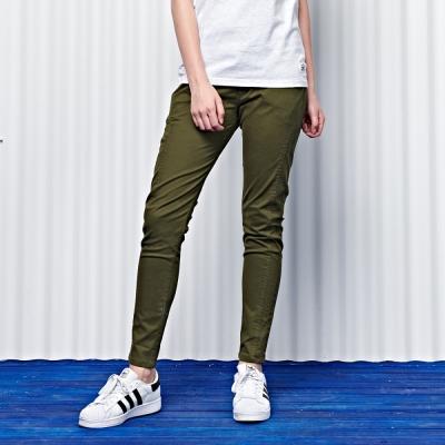 修身縮口工作褲-2色-CACO