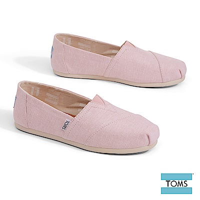TOMS 經典混細線帆布休閒鞋-女款
