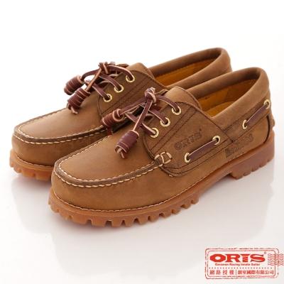 ORIS 女款 真皮烙印888帆船鞋~888C03