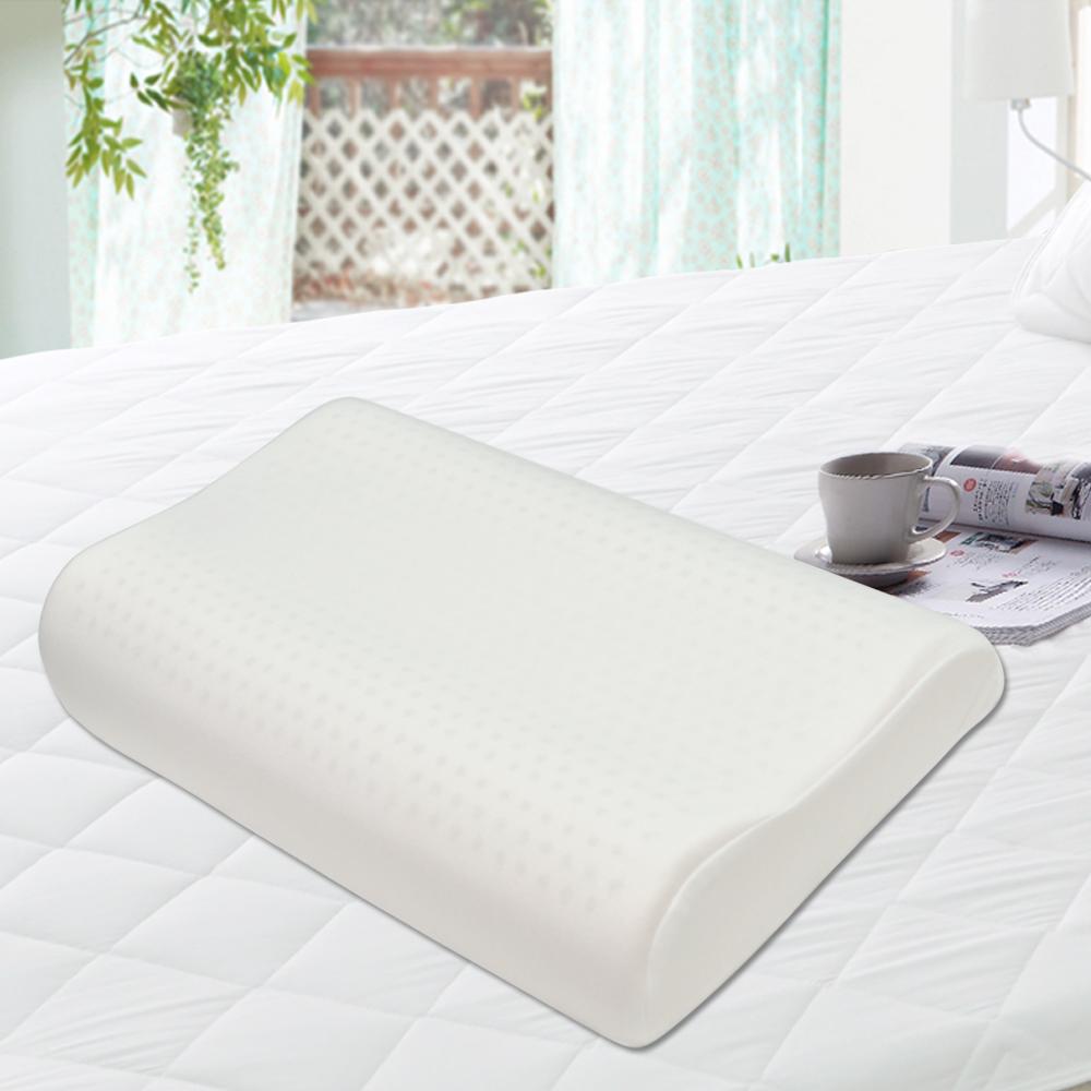 亞曼達Amanda 蜂巢氣孔100%天然乳膠枕(人體工學型) -1入 (快速到貨)
