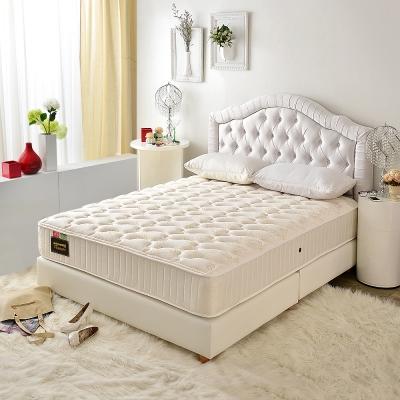 MG珍寶-飯店用-護腰型-乳膠抗菌硬式獨立筒床墊-雙人5尺