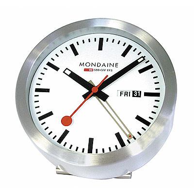 MONDAINE 瑞士國鐵 經典兩用鬧鐘
