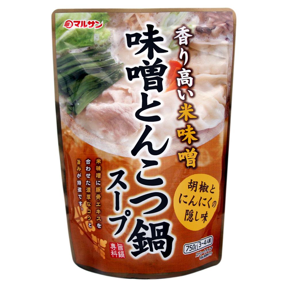 丸三 味噌豚骨火鍋湯底調味料(750g)