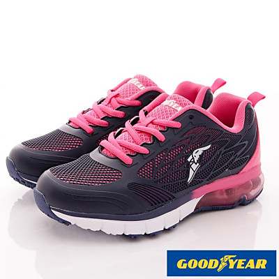 GOODYEAR-氣墊緩震運動鞋款-SE2203藍桃(女段)
