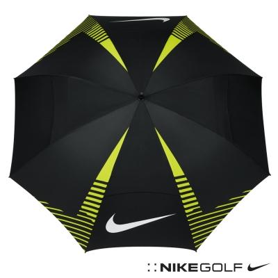 Nike Golf 專業高爾夫遮陽傘-黑綠GGA306-007