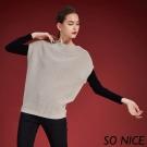 SO NICE羊毛混紡針織上衣-動態show