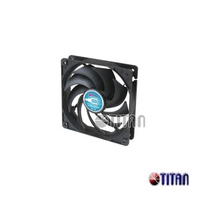 TITAN 十二公分USB風扇 TFD-12025SL05Z(RB)