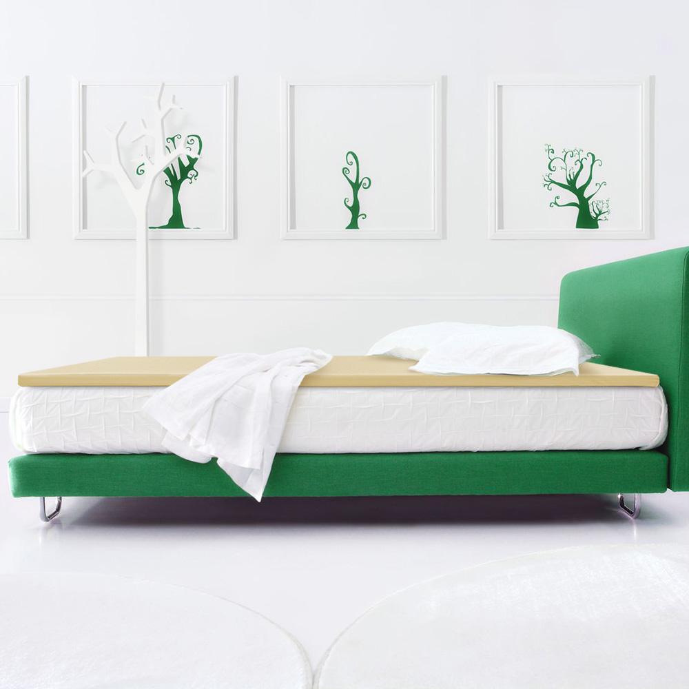 幸福角落 防蹣抗菌3cm釋壓記憶床墊-單人3尺