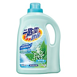 一匙靈 歡馨幽谷鈴蘭香超濃縮洗衣精 (瓶裝2.4kg)