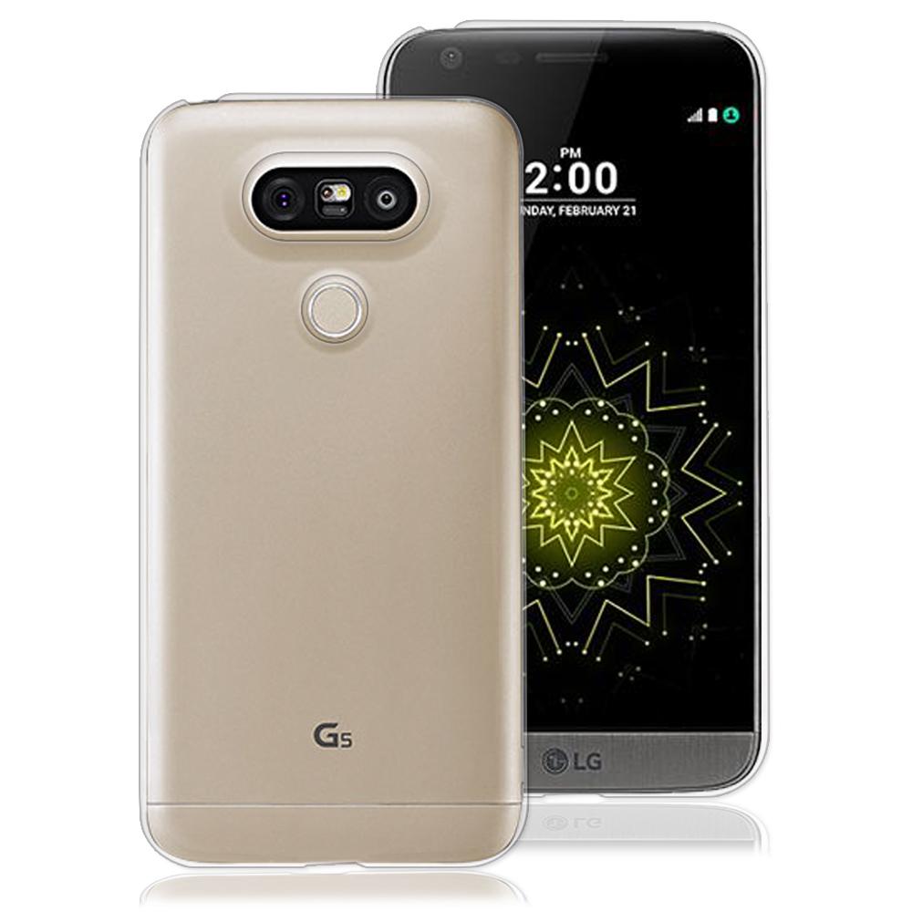 RedMoon LG G5 彈性TPU透明手機軟殼