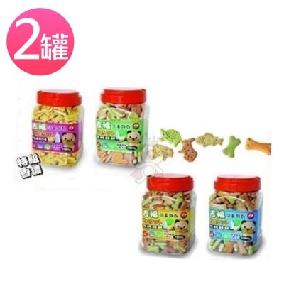 吉福 犬用消臭餅乾 1kg (兩罐組)