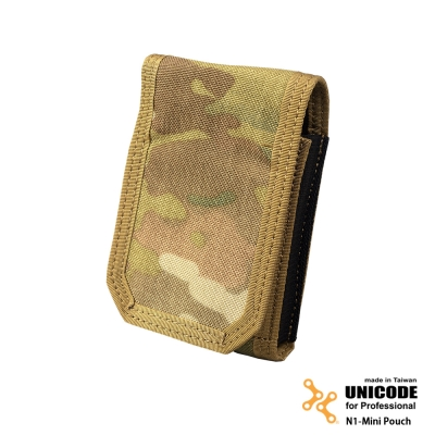 UNICODE N1-Mini Pouch MultiCam 迷你置物袋-多地型迷彩