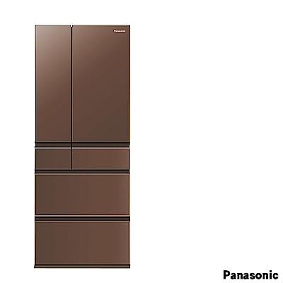 PANASONIC 國際牌500L六門變頻玻璃冰箱 NR-F503HX