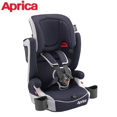 Aprica Air Groove 成長型輔助汽車安全座椅-藍色颶風 NV