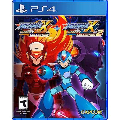 (預購)Megaman X 週年紀念合集 1+2- PS4 亞版英日文版