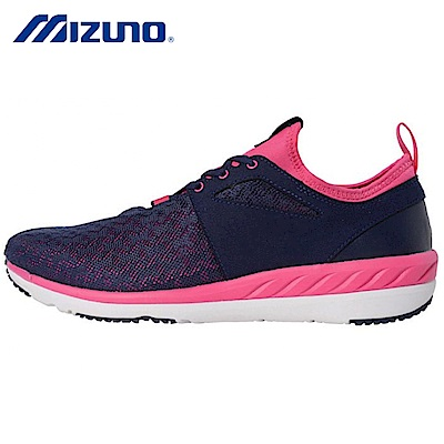 Mizuno美津濃WAVE Tx Walk寬楦女健走鞋B1GF184414