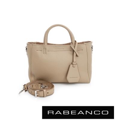 RABEANCO迷時尚系列優雅兩用小手提包-小-杏