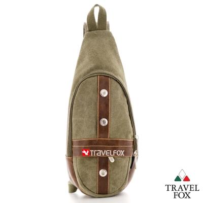 Travel Fox旅狐 休閒包 蛋型貼身旅行隨身包 - 深綠